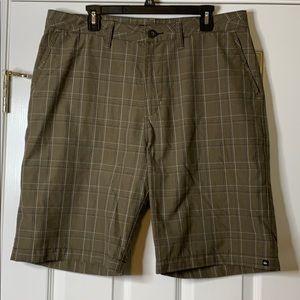 Quiksilver Plaid Bermuda Shorts